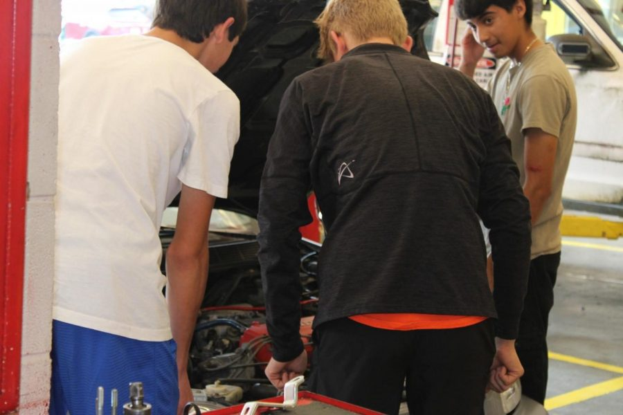 Alejandro Ernesto, Seth Null, and Armando Garcia working together